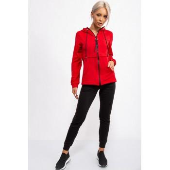 Спорт костюм женский, цвет Красно-черный