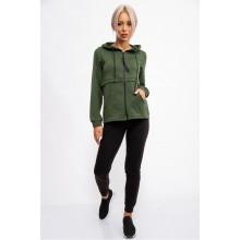 Спорт костюм женский, цвет Зелено-черный